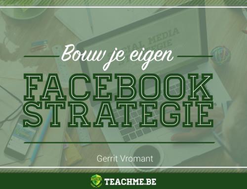 Nieuw: Cursus Bouw je eigen Facebook strategie