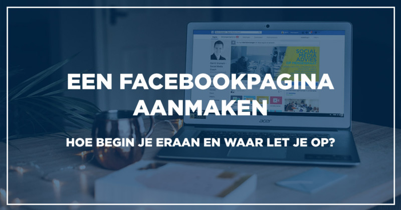 nieuwe facebook pagina aanmaken