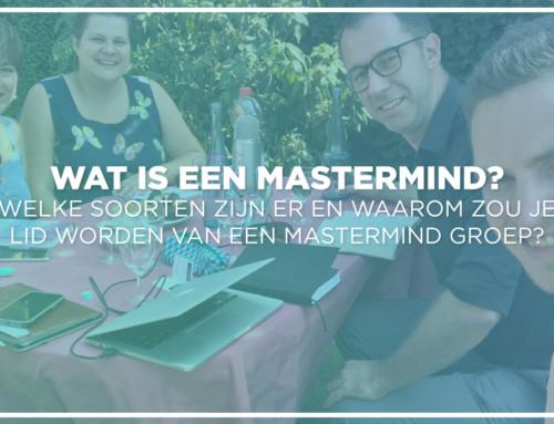 Wat is een MasterMind en waarom zou je lid worden van een MasterMind Groep?