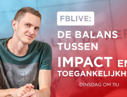 De balans tussen impact en toegankelijkheid
