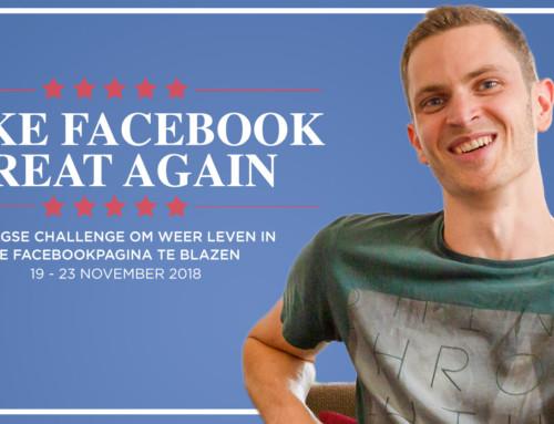 Minder bereik op Facebook? Goede zaak. Waarom ik blij ben met dat nieuwe Facebook Algoritme